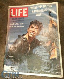 Life Magazine: Israeli Soldier Cover; 1967